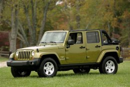 JEEP Wrangler Unlimited 4p